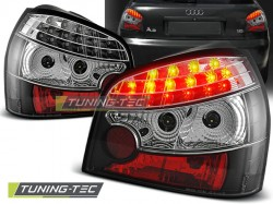 LED TAIL LIGHTS BLACK fits AUDI A3 08.96-08.00