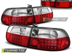 HONDA CIVIC 09.91-08.95 3D RED WHITE LED