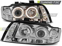 AUDI A4 10.00-10.04 ANGEL EYES CHROME