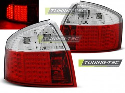AUDI A4 10.00-10.04 RED WHITE LED