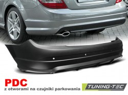 REAR BUMPER SPORT PDC fits  MERCEDES W204 07-10 SEDAN