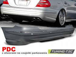 REAR BUMPER SPORT PDC fits MERCEDES W211 06-09 SEDAN