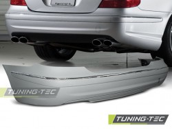 REAR BUMPER SPORT fits MERCEDES W211 02-06 SEDAN