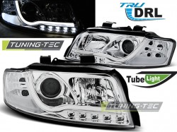 AUDI A4 10.00-10.04 TUBE LIGHTS CHROME TRU DRL