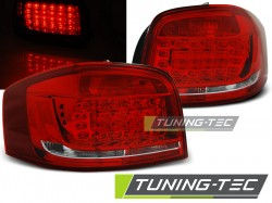 AUDI A3 08-12 RED WHITE LED
