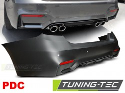 REAR BUMPER SPORT STYLE PDC fits BMW F30 SEDAN 10.11-18