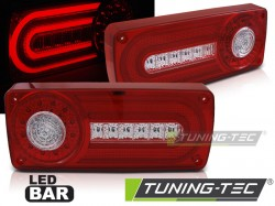 MERCEDES W463 G-KLASA 90-12 RED WHITE LED