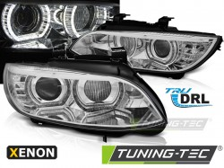 BMW E92/E93 06-10 ANGEL EYES LED CHROME AFS HID