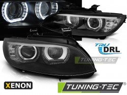 BMW E92/E93 06-10 ANGEL EYES LED BLACK AFS HID