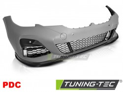 FRONT BUMPER PERFORMANCE STYLE PDC GLOSSY BLACK fits BMW G20/G21 19-